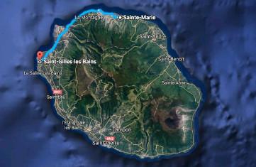 Navette aéroport Roland Garros de Saint Denis île de la Réunion